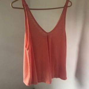 NWOT Free people flowy ribbed tank top